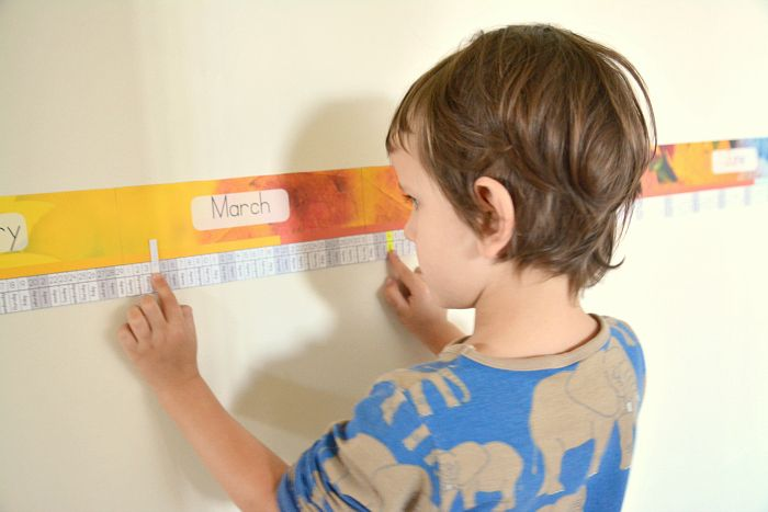 Linear Calendar Kindergarten : Images about montessori history on pinterest