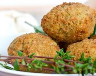 Falafels légères ou boulettes de pois chiche libanaises