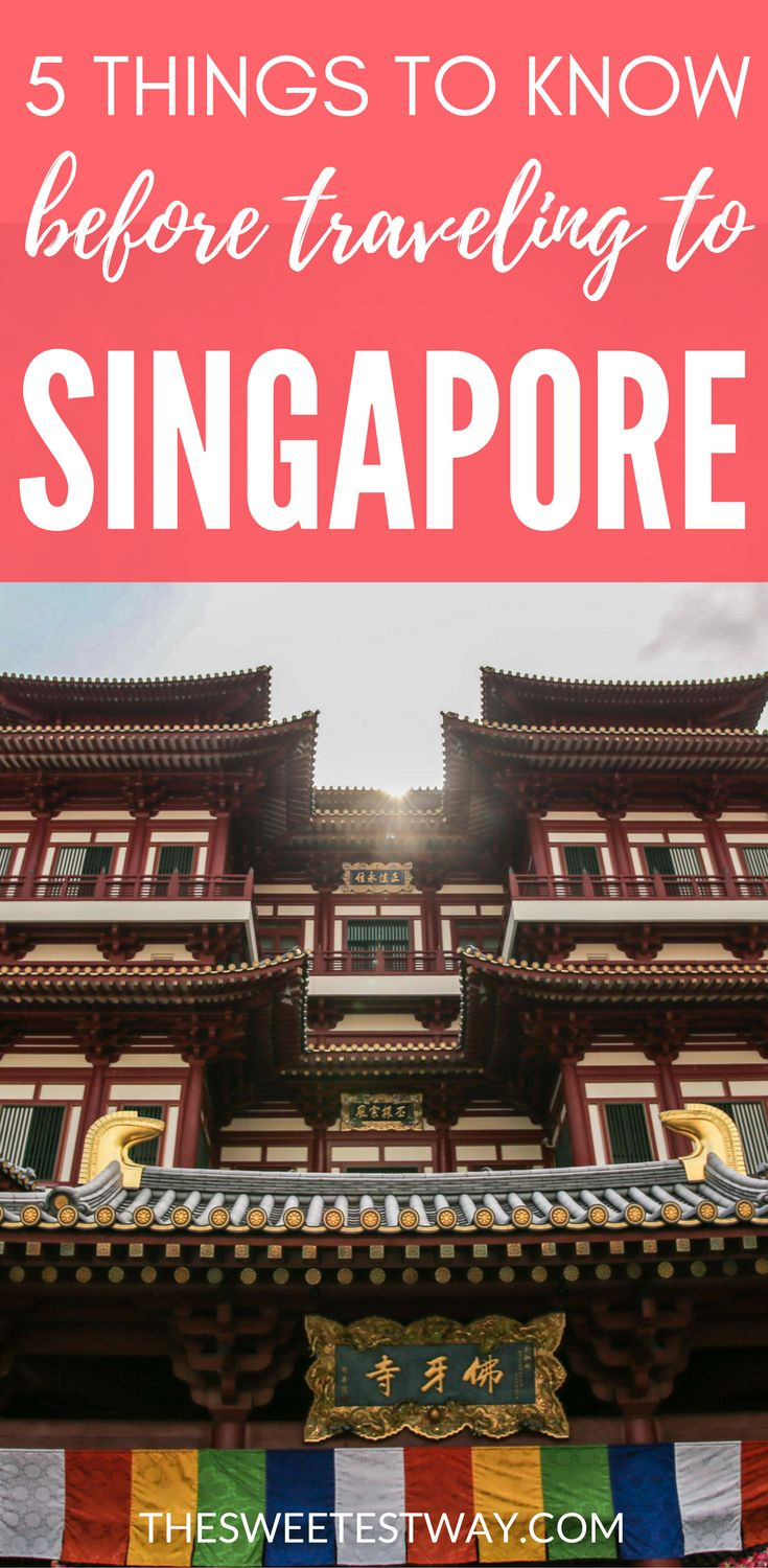 Need-to-know travel tips for Singapore. How to survive in this towering city-state in Southeast Asia!