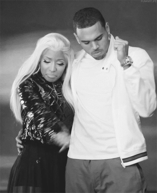 dance dancing nicki minaj chris brown #gif from #giphy