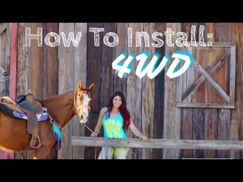 How To Install 4WD in Your Barrel Horse - YouTube