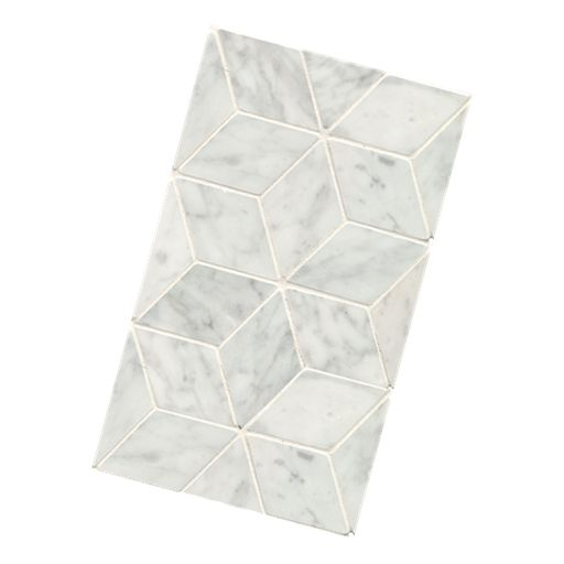 Beaumont Tiles - Mirror wall (one feature 3 charcoal