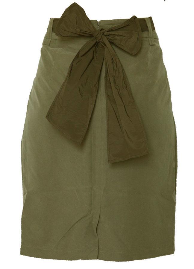 $88 ERYN BRINIE Bow Skirt