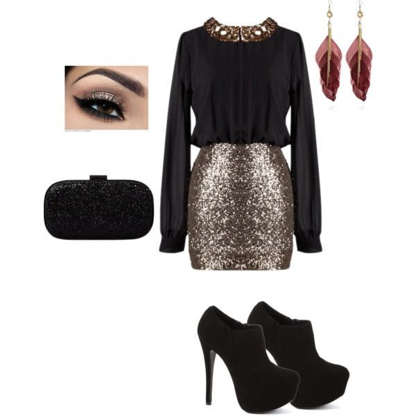 A fashion look from November 2012 featuring Steve Madden ankle booties, Anya Hindmarch clutches and River Island earrings. Browse and shop related looks.