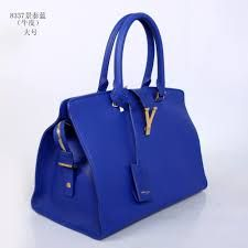 Image result for ysl bag blue
