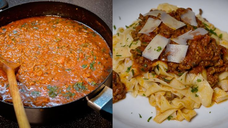 Italian Tomato Sauce with Minced Beef - perfect for pasta!