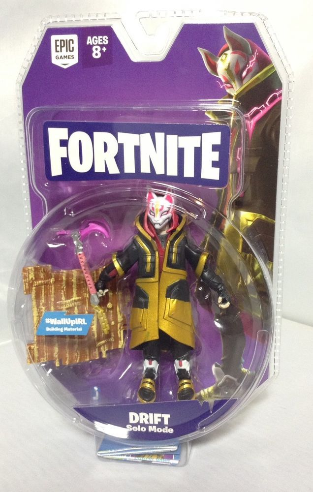 Fortnite Drift Solo Mode 4 Action Figure In Hand Jazwares