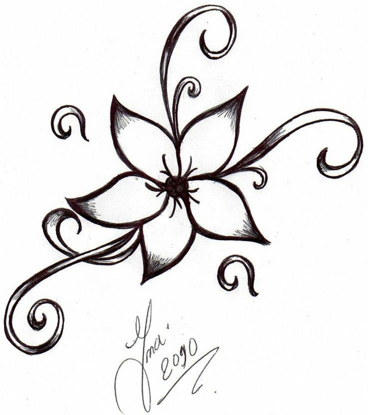 Easy Designs To Draw On Paper Drawing Pinte