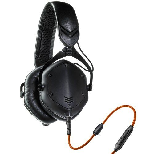 V-MODA Crossfade M-100 Over-Ear Noise-Isolating Metal Headphone (Matte Black Metal)