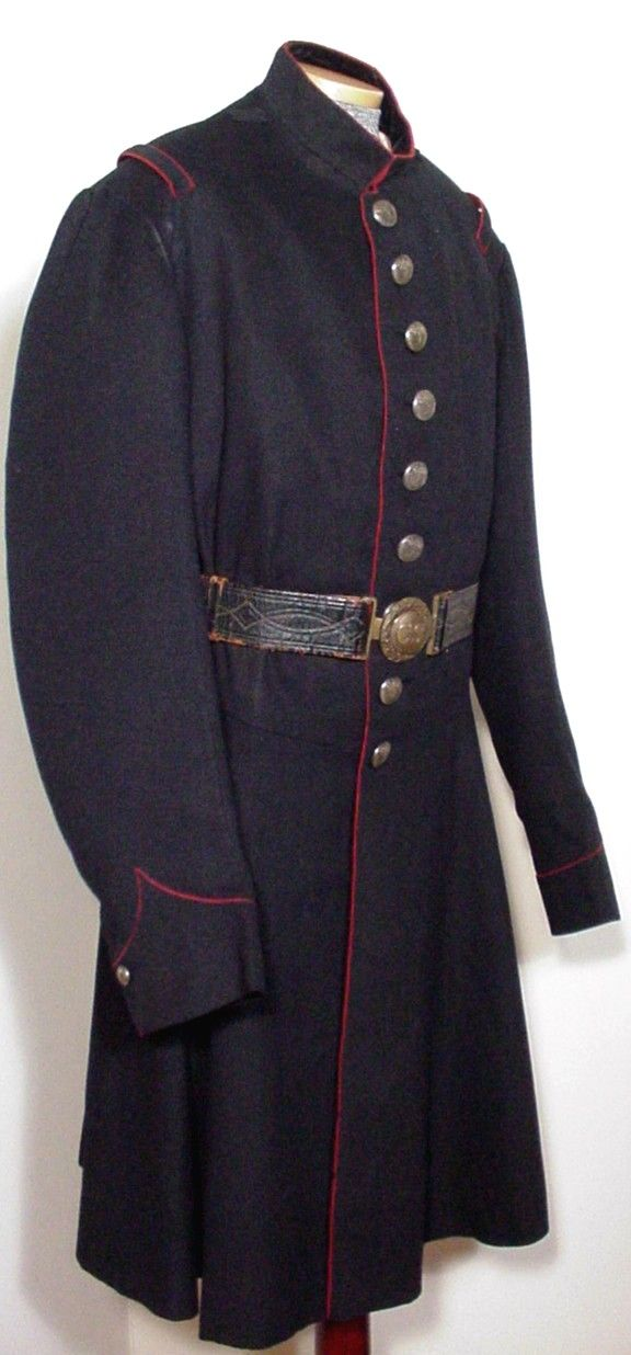 1860s Uniform: After an extensive survey of the worlds leading public and private Confederate collections, the frock coat shown here has been determined to be the only known surviving circa 1860-1861 South Carolina Regular Army enlisted artillery man's frock coat left in existence.