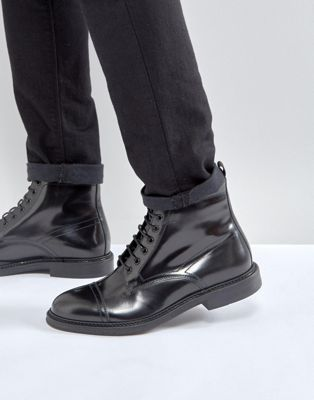 Zign Smart Leather Lace Up Boots