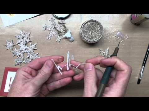 2015 VIDEO Distress Glitter Dust ... Tim Holtz introduces the New Distress Glitter Dust from Ranger...