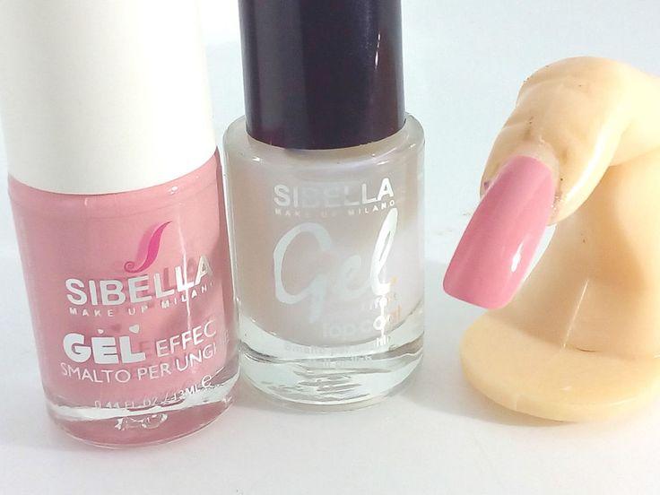Smalto Gel Effect Rosa Antico + Top Coat Semipermanente I Gioielli di Vicky