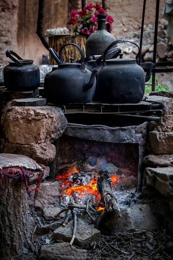 Witch Cottage:  #Cauldrons and #kettles.