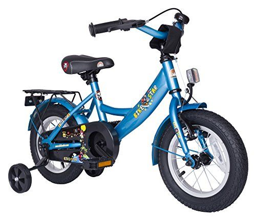 Special Offers - Bikestar 12 inch (30.5 cm) Kids Children Boys Bike Bicycle Classic  Colour Blue - In stock & Free Shipping. You can save more money! Check It (March 28 2016 at 12:54AM) >> http://cruiserbikeswm.net/bikestar-12-inch-30-5-cm-kids-children-boys-bike-bicycle-classic-colour-blue/