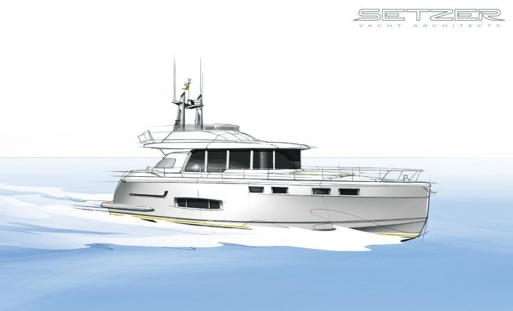 NISI 1700 Sport Cruiser | Setzer Yacht Architects