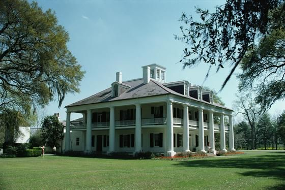 Historical Southern Plantation home