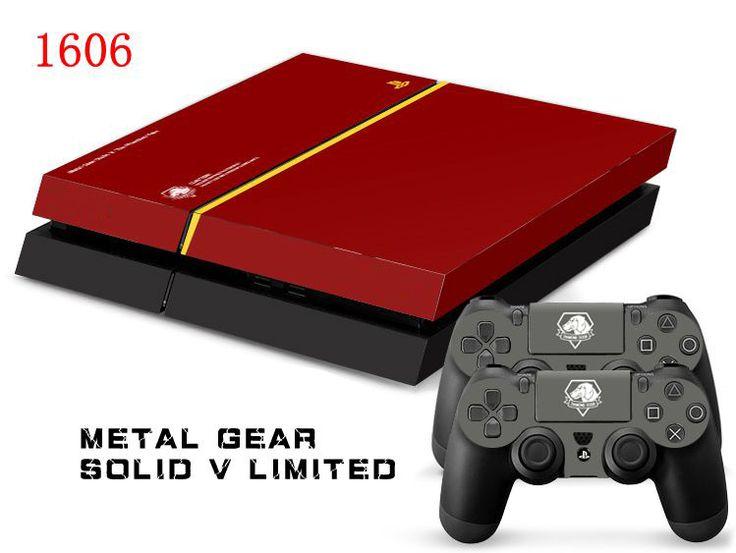 Так Поп Metal Gear Solid Игры MGS Защитный Декор Наклейку Кожи для SONY Playstation 4 Наклейка Наклейки для PS 4 PS4 Прохладный
