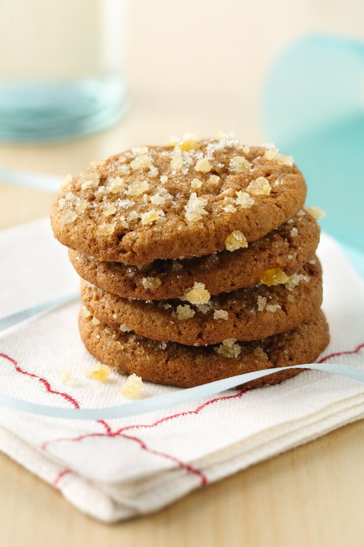 Chewy Triple Ginger Cookies | Recipe | Recipe, Ginger ...