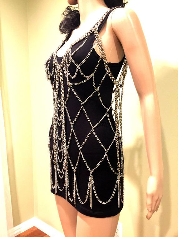 Body Jewelry Top Dress. Shoulder Jewelry. Shoulder Chains.