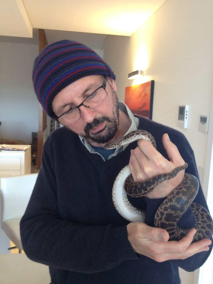 At Lynleigh Greigs meeting her Spotted Python, Scayleigh.
