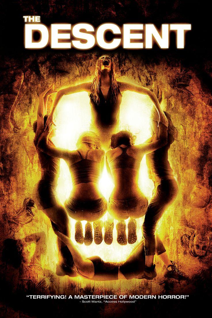The Descent Movie Poster - Shauna MacDonald, Natalie Mendoza, Alex Reid  #TheDescent, #ShaunaMacDonald, #NatalieMendoza, #AlexReid, #NeilMarshall, #Thriller, #Art, #Film, #Movie, #Poster