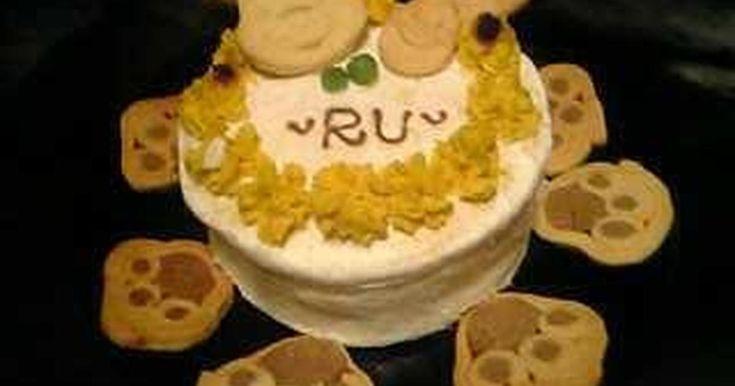 ◎犬用スポンジケーキ◎ by hysteric02 [クックパッド] 簡単おいしいみんなのレシピが237万品