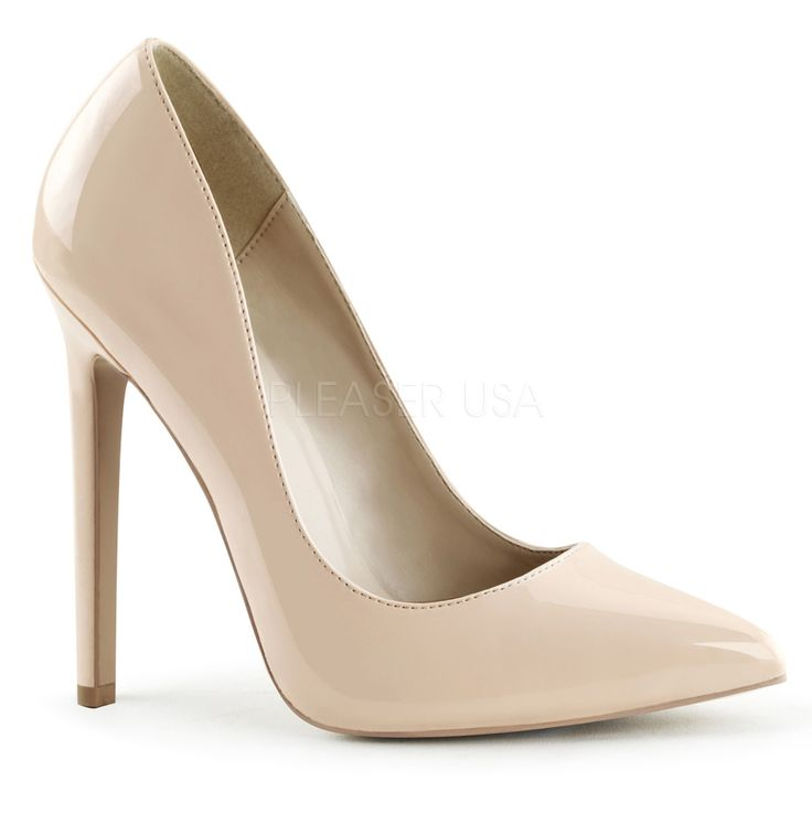 Escarpins ferme sexy Collection PLEASER par Chaussureland, chaussures talons haute pour homme, femme et travestie