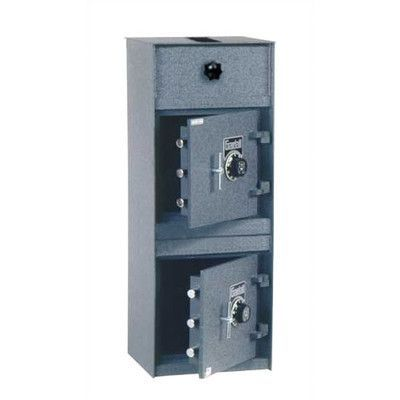 gardall rotary chamber commercial depository safe 252 cuft door placement dual door lock type