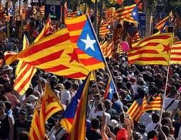 Catalonia fighting for their (our) freedom. VISCA LA TERRA LLIURE!