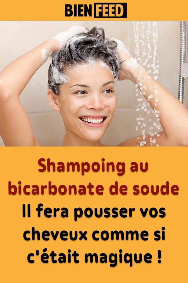 Shampoing au bicarbonate de soude : Il fera pousser vos cheveux comme si c'était magique !
