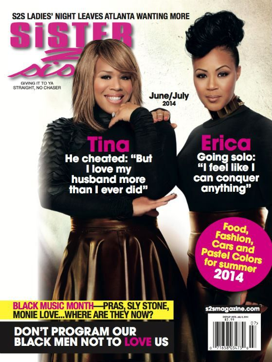 Mary Mary Grace The Cover Of Sister 2 Sister Magazine