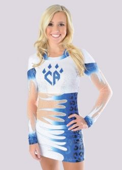 Allstar Cheerleading Uniform, Cheer Athletics Cheetahs, by Rebel Athletic