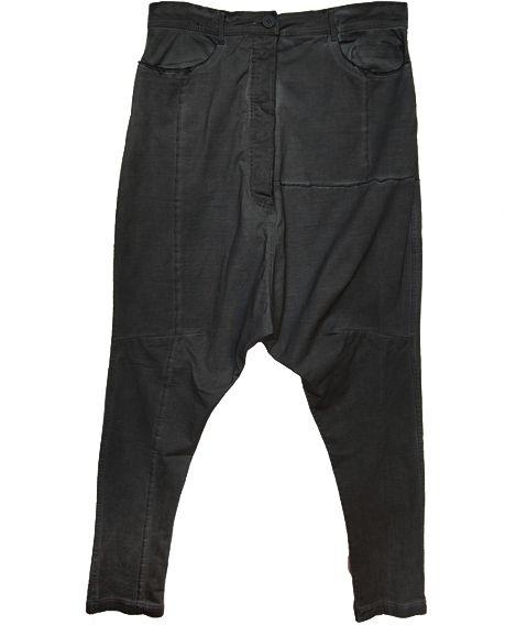 black label baumwollhose sarouel baggy hose mit tiefem schritt tang. Black Bedroom Furniture Sets. Home Design Ideas