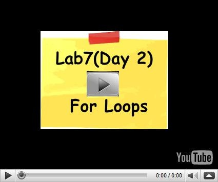 In this video we will see how to use the for loop to write such kind of logic.  Visit us for c# training at . http://www.questpond.com