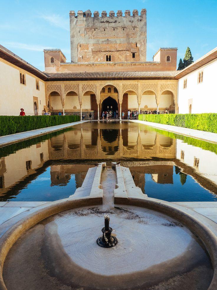 Reflections, La Alhambra, Granada