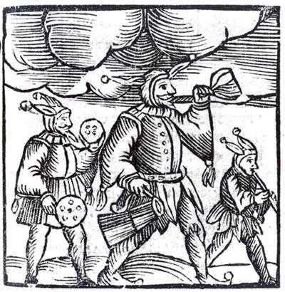 Purim 5. Sefer Minhagim, Venice, 1593. Courtesy of The Library of The Jewish Theological Seminary.