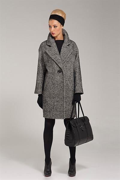 Пальто серое купить