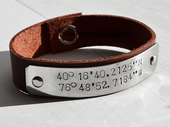 OMG I want this soooo bad!!! It would be awesome to have the coordinates of where we met engraved on here!!!