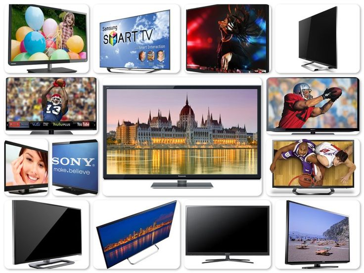 Here are Top 10+ Televisions - LCD, LED & Plasma TVs. The list contains Samsung, Sony, Vizio, Sharp, Toshiba, Sceptre, LG and Panasonic Televisions.