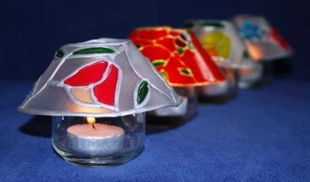 Krea feest pakket lampekapjes
