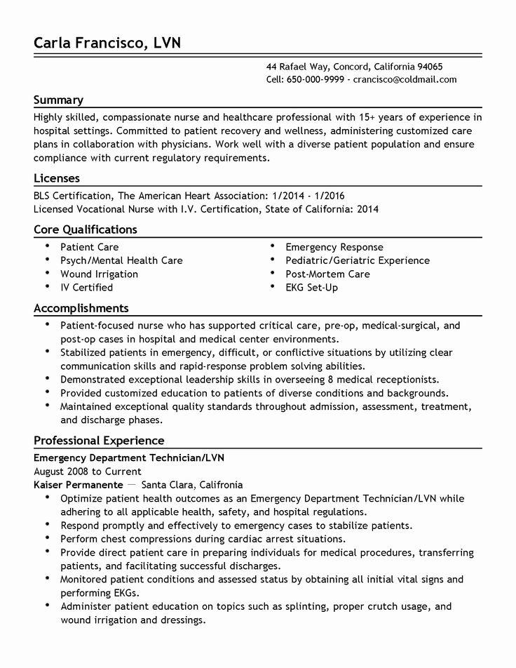 23 Patient Care assistant Job Description Resume in 2020