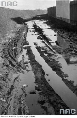 Ulica Zabłocie. Listopad 1942