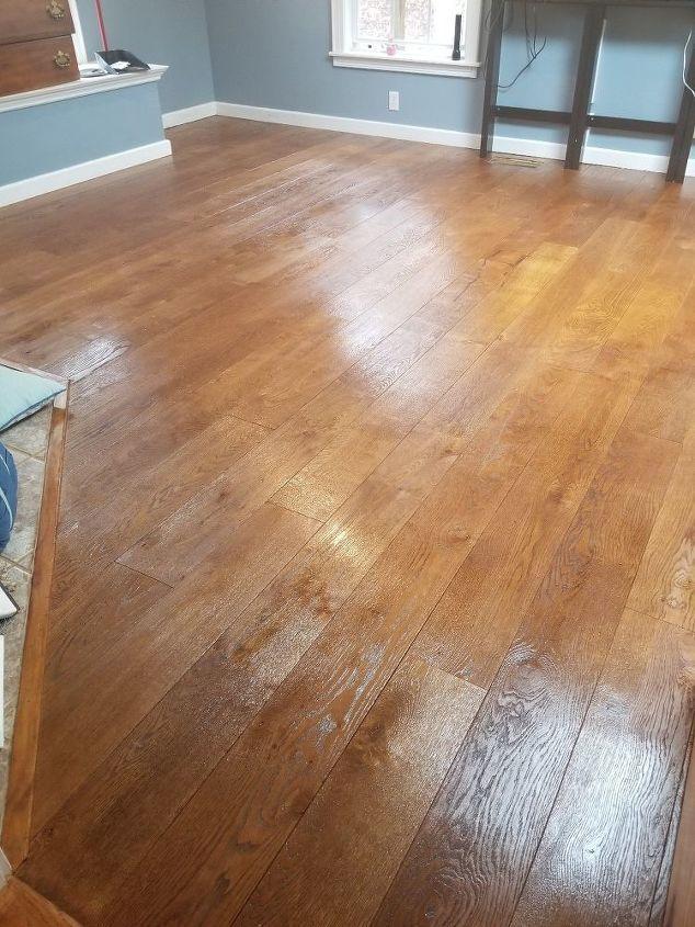 Bedroom Wood Floors Diy Makeover Flooring Diy Wood Floors Diy