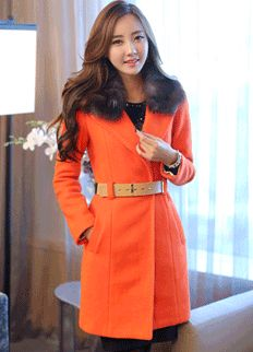 Stylish Jacket / Coat from Styleonme.  Korean Fashion, Women Fashion, Feminine Look, Classy Look, Office Look, Lovely, Romantic, High Quality, Gorgeous Look, F/W 2014,Style On Me, Louis Angel, Winter Styling  www.styleonme.com