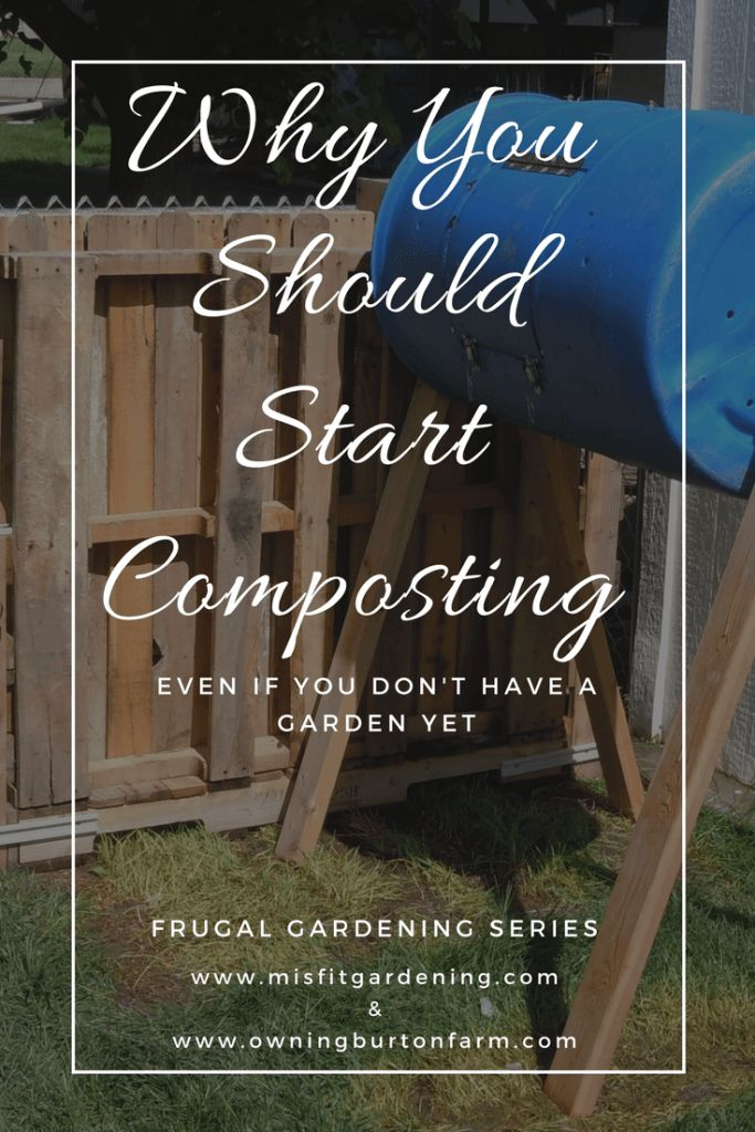 Composting Is A Super- Frugal Goldmine! Learn how to get started composting, even in small spaces. Click through to find out more or pin it to save for later.