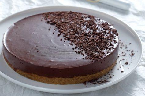 Σοκολατένια τούρτα γιαουρτιού