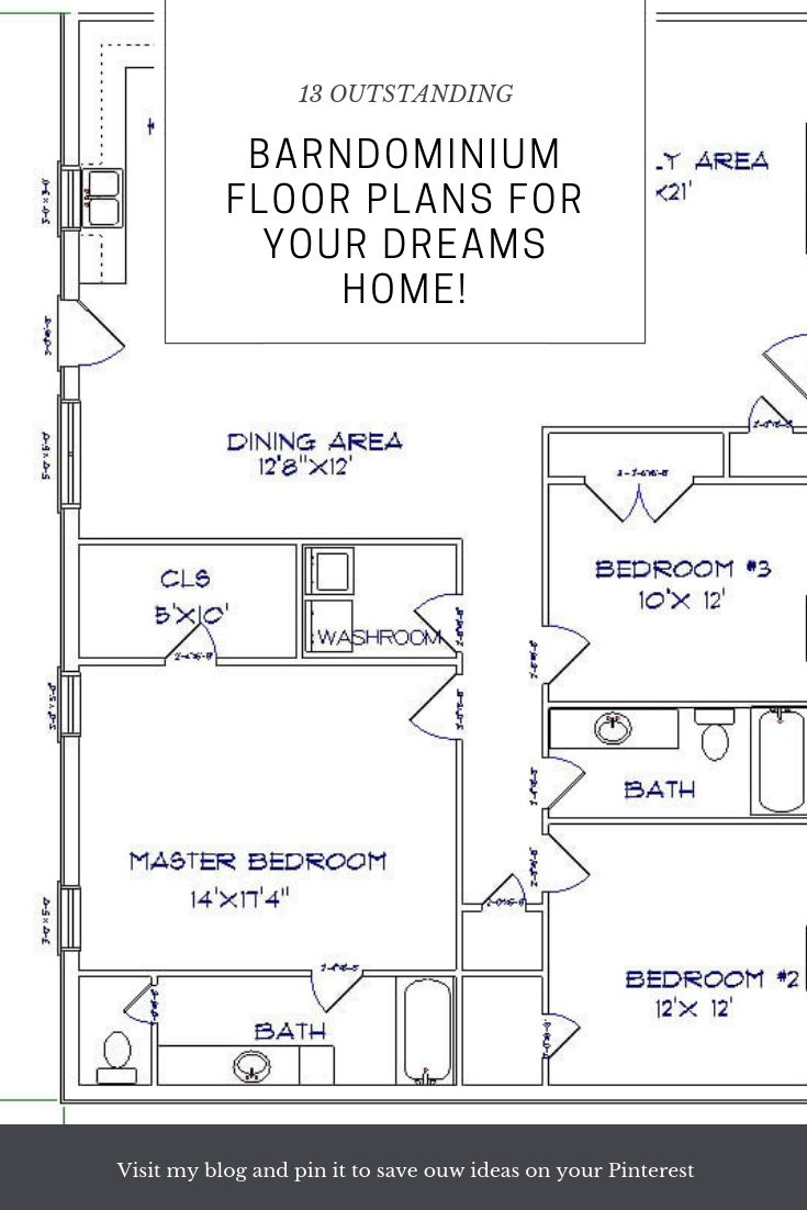 Modern Barndominium Floor Plans 2 Story With Loft 30 40 Cute766 Barndominium house plans are country home designs with a strong influence of barn styling. modern barndominium floor plans 2 story