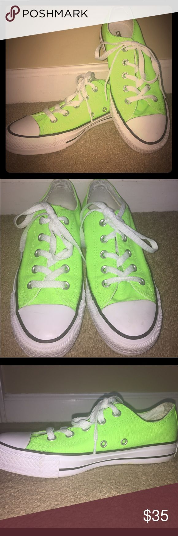Neon green converse Neon green converse got them for $70 selling for $30. Got them last year . Converse Shoes