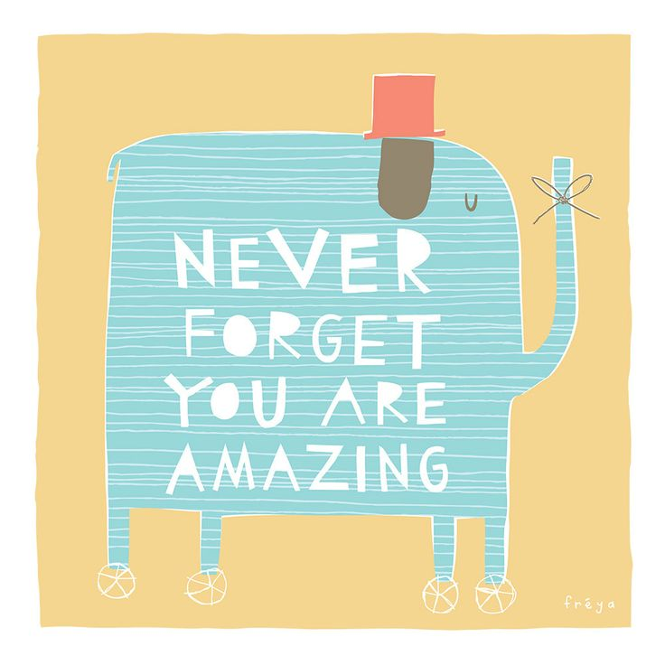How adorable is he? :) Never Forget You Are Amazing - Fine Art Print (Large). $75.00, via Etsy.
